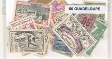 Guadalupe    US  Paquete  50 sellos diferentes