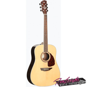 Samick Guitar Works S500D 500 Series Solid Top and Back Acoustic Guitar
