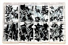 Assortiment noir pop rivets rivet ord & large bride alum/acier qté 200 AT95