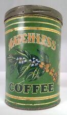 VINTAGE ADVERTISING MATCHLESS COFFEE TIN 808-U