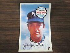 1970 Kelloggs # 70 Wallace Bunker Card (B18) Kansas City Royals