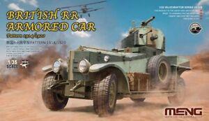 1/35 MENG #VS-010 British Rolls Royce Armored Car Pattern 1914 / 1920