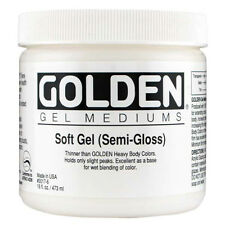 GOLDEN ACRYLIC : Soft Gel SEMI-GLOSS : 236ml : 473ml : 946ml