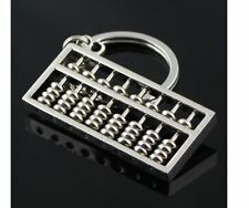 Abacus Slide Rule Calculator Key Ring