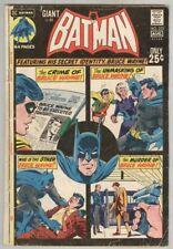 Batman #233 July 1971 G/VG Giant Size