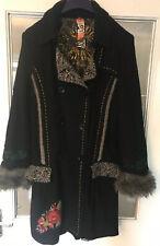 Desigual Ladies Detailed Coat 42