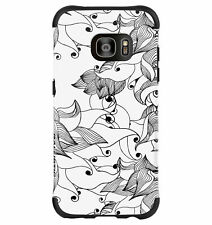 Ballistic Samsung Galaxy S7 EDGE - Black/White/Tiger Lily Urbanite Select Case