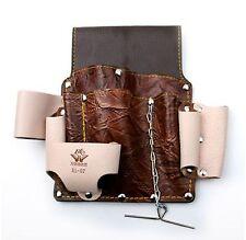 Multi Purpose 10 Pocket Hand Tool Leather Holder For Pincers Nipper Ruler Hammer