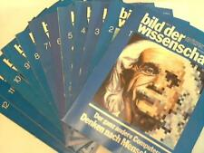 Haber, Prof. Dr. Heinz: image of science. 25. Year. 12 issues