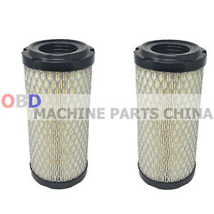2X SFA2686P Air Filter( RS3715 - AF25550 - M113621 - 1G659-11220  30-600-49-20)