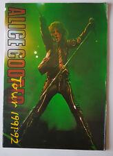 Alice Cooper Tour 1991-92 Official Souvenir Tour Concert Programme
