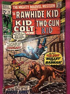 THE MIGHTY MARVEL WESTERN #1 Volume 10 RAWHIDE KID! KID COLT! TWO-GUN KID!