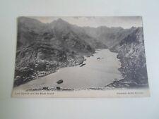 Milestone at Broadford Isle of Skye Scotland Vintage Scottish Postcard