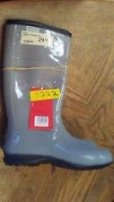 """Itasca Womens 14"""" Splashers Rubber Boots Gray New MIXED Sizes 9 10"""