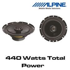 """VW Passat (B6/3C) 2005> Alpine SXV-1725E -6.5"""" 17cm 2-Way Car Coaxial Speakers"""