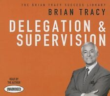 NEW 2 CD Delegation and Supervision Brian Tracy
