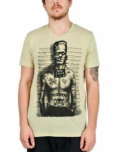 Too Fast Clothing Tattooed Monster Mens T-Shirt Goth Tattoo Alternative Metal