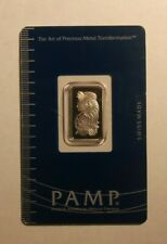 5 gram Pamp Suisse Platinum Bar (in Assay)