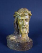 Holz Büste - Jesus Kopf
