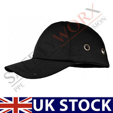 New Black Bump Cap Safety Baseball Cap Head Protective Hard Hat Ventilated PPE