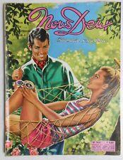 ► NOUS DEUX n°1002/1966 - BONTEMPELLI - MIREILLE DARC - MIREILLE MATHIEU