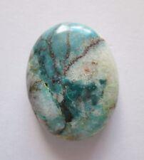 28.80 ct Natural Bisbee Turquoise Cabochon Gemstone, DE 069