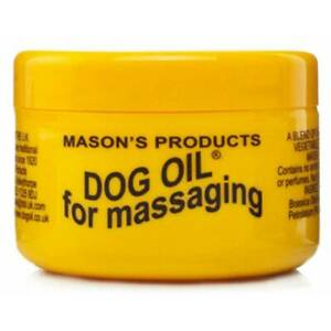 Mason's Products Dog Oil 100g 100% Natural Massaging Balm for Joint Aches & Pain