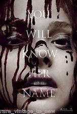 Carrie Movie Poster Horror Gore Evil Dead Chloe Moretz