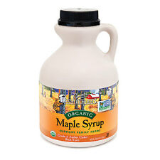 1 Pint, Coombs,  Maple Syrup, Organic, Grade A, Amber Color, Rich Taste,16 Oz