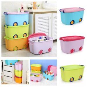 Spielzeugkiste Rollbox Spielzeugtruhe Spielzeugbox Box Aufbewahrungsbox Kiste