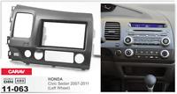 CARAV 11-063 2Din Marco Adaptador de radio para HONDA Civic Sedan 2007-2011