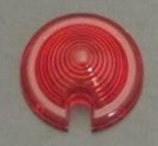 1 cabochon rouge clignotant clignoteur moto bobber chopper bullet markerlight