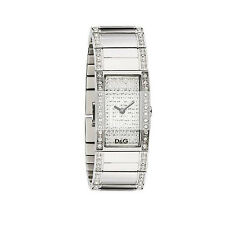 Dolce & Gabbana DW0276 FESTIVAL Silver Tone Crystal Embellished Women's Watch