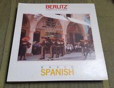 1985 BERLITZ Basic SPANISH Audio Cassette Course