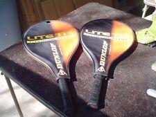 2 - Dunlop Lite Ti Junior 25 Tennis Racquets 4.0 Grip