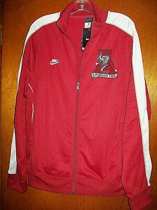 VTG NWT Nike Nike Alabama Crimson Tide Football Track Jacket 1970-1990's Logo XL