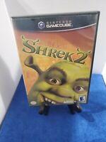 Shrek 2 (Nintendo GameCube, 2004) Black Label Complete Game CIB