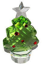 SWAROVSKI CRYSTAL FELIX MEDIUM CHRISTMAS TREE FIGURINE - NEW / authentic