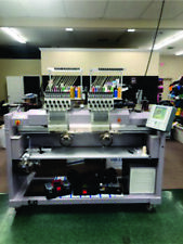 (2015) Zsk 2 Head 12 Needle commercial embroidery machine