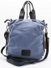 Jack Kinsky CANNES 1 marine blau Vintage Umhängetasche Henkeltasche Tasche