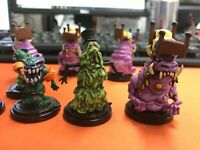 Lot of 9 New Large pre-painted Fantasy Monsters miniatures minis