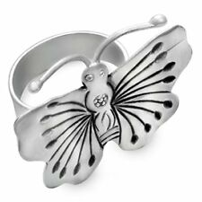 Schmeterling Buterfly 925 Silber Damen Schmuck Ring Handarbeit gr.60 #r325