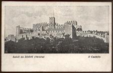 cartolina SOAVE saluti da..il castello