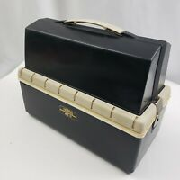 Thermos Lunch Box King-Seeley Black Removable Lid Lunch Cooler Fish Hunt 12x10x6