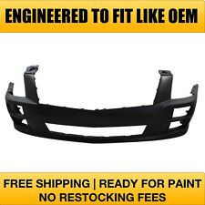 NEW Fits: 2008 2009 Cadillac STS w/o HL Wash Front Bumper PRIMERED GM1000874