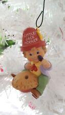 itreekedyou.com 1988 Hallmark Little Jack Horner Christmas Ornament