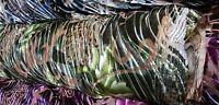 "NEW**korea premium quality burn-out velvet lycra floral print fabric 54""wide"