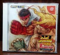 Street Fighter 3 Ⅱ W impact  [Disk is beautiful ! ]DREAM CAST SEGA from Japan