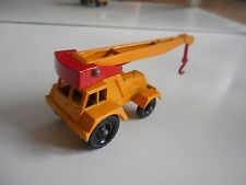 Matchbox Lesney Taylor Jumbo Crane in Yellow/Red