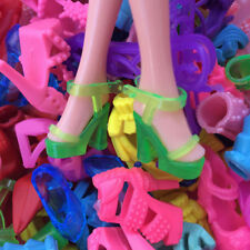 10 Items Fashion Party Daily Wear Dress Outfits Clothes Shoes For Barbie Doll L7
